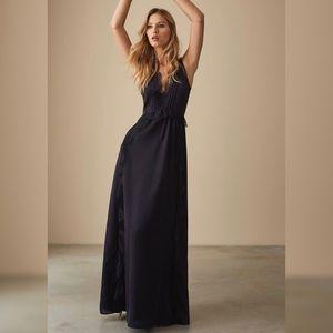 NWT Reiss long silk evening gown